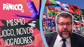 Ernesto Araújo: 'Tentamos fazer uma política externa que seja condizente ao momento nacional'