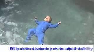 Program prežitia plávania pre dojčatá a malé deti