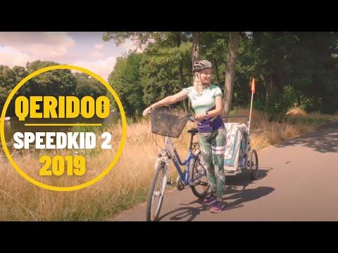 Przyczepka rowerowa Qeridoo Speedkid 2