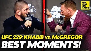 CRAZIEST MOMENTS From UFC 229: Khabib vs. McGregor Press Conference