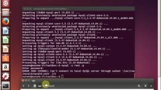 Mysql error - Can't connect to local MySQL server through socket mysqld.sock