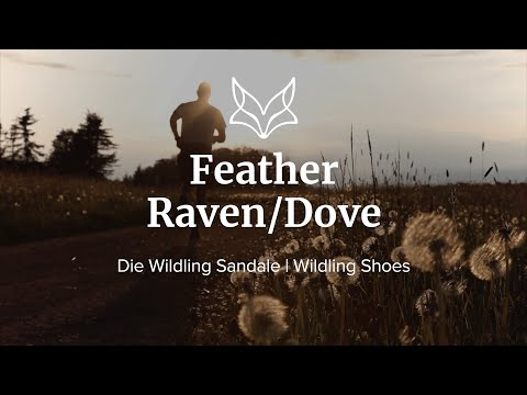 Feather Raven and Feather Dove - Die Wildling Sandale