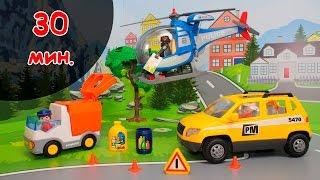 Видео для детей про игрушечные машинки на русском языке.