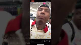Megan Thee Stallion And Moneybagg Yo Grocery Shoppingcouple Goals IG LIVE VIDEO