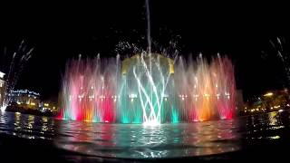 preview picture of video 'Water & Light Show on Republic Square, Yerevan - Armenia.'