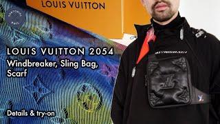 Louis Vuitton 2054 Pick Ups: Windbreaker, Sling Bag, Monogram Stole/Scarf LV2054 By Virgil Abloh