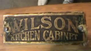 Hoosier Cabinet Project #3--Pickin & Gri--err, Washin :)