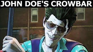John Doe's Crowbar - All Options - BATMAN Season 2 The Enemy Within Episode 3: Fractured Mask