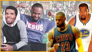 LEBRON JAMES VS KEVIN DURANT IN THE FINAL MINUTES! - MyTeam Battles Ep.2