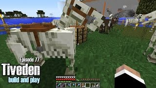 Minecraft Build & Play - Tiveden #77 - Skeleton Horses Everywhere!