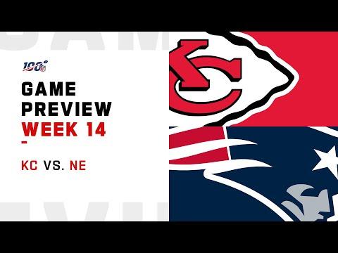 Kansas City Chiefs vs New England Patriots Week 14 NFL Game Preview