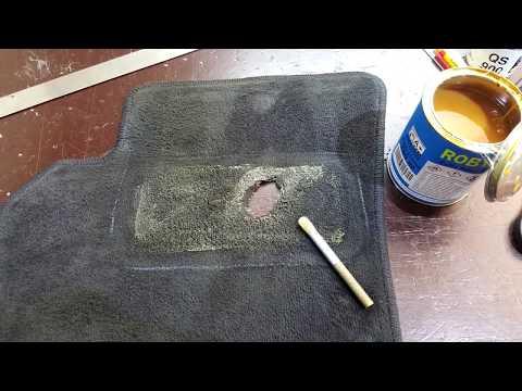Ремонт автомобильного коврика, своими руками. Перетяжка и ремонт салона автомобиля