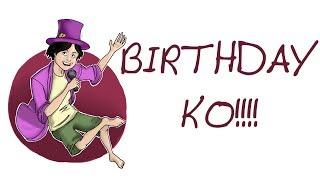 IT'S MY BIRTHDAY!!!