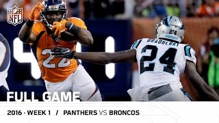 Panthers vs. Broncos Full Game (Condensed) | Every Play from Week 1 | NFL Game Pass