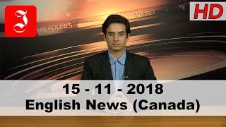 News English Canada 15th Nov 2018