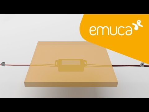How to install the Spirit dimmer touch sensor hidden under the surface of the furniture – Emuca