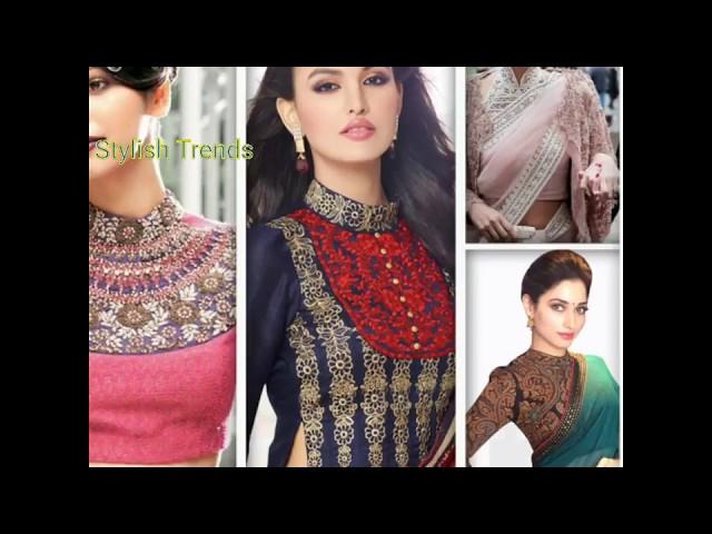 #4 Neck line design models for Blouse | Dress | Churidar | Tops | Gowns
