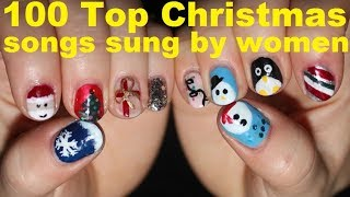 Christmas music performed by women - 100 top xmas songs sung by ladies -The best popular playlist