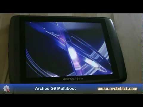 Archos G9 multiboot and ICS@BLUE custom firmware install