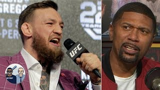Conor McGregor will fight again in the UFC despite his retirement - Jalen Rose | Jalen & Jacoby