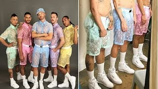 Lace Shorts For Men Are The Latest Hottest Trend This Summer
