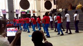 First Love church Dancing Stars | Homecoming Lci | Church dey sweet papa | Kingzkid