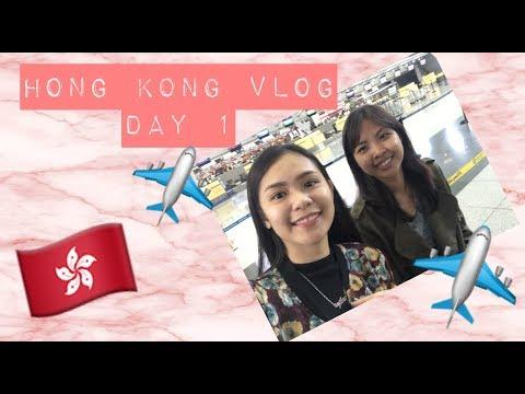 Hong Kong Vlog Day 1 + Hotel Room Tour 🇭🇰