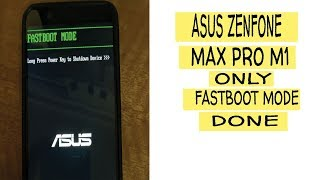 csc fastboot mode asus zenfone max pro m1 - मुफ्त