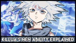 Explaining Killua Zoldyck's Nen Abilities (Godspeed + Electric Aura)   Hunter X Hunter Explained