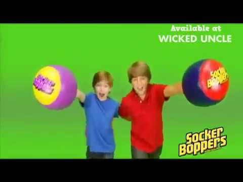 Youtube Video for Socker Boppers - Inflatable Boxing Pillows