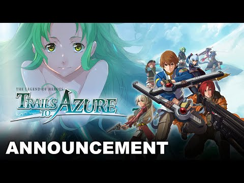 The Legend of Heroes: Trails to Azure - Teaser Trailer  de The Legend of Heroes: Trails to Azure