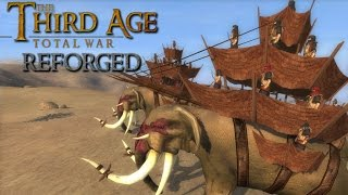 Third Age: Total War (Reforged) - RUNNING AMOK (1v1 pitch)