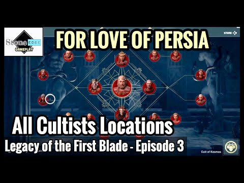Assassin's Creed Odyssey: ALL CULTISTS LOCATIONS - Order of Ancients [Legacy First Blade Episode 3]