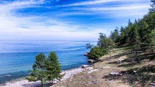 Kontrasty Bajkału 4k
