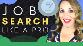 Job Search Workshop   5 TOP Job Search Tips And Techniques 2019
