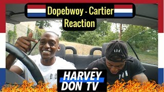 Dopebwoy   Cartier Ft. Chivv & 3robi   Reaction