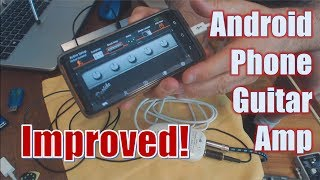 Improved!   Build A Portable Amp From Your Android Phone