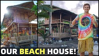 BecomingFilipino – BIG PHILIPPINES BEACH HOME – Our Land In Davao – FILIPINO MADE HOUSE AND GARDEN