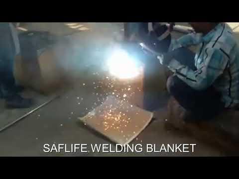 Custom Fire Retardant Welding Blanket