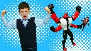BEN 10 Toys - Силач против Хекса. Игрушки для мальчиков