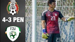 Resumen Mexico Vs Irlanda 4-3 Penales - Partido Por El Tercer Lugar Torneo Esperanzas De Toulon 2019