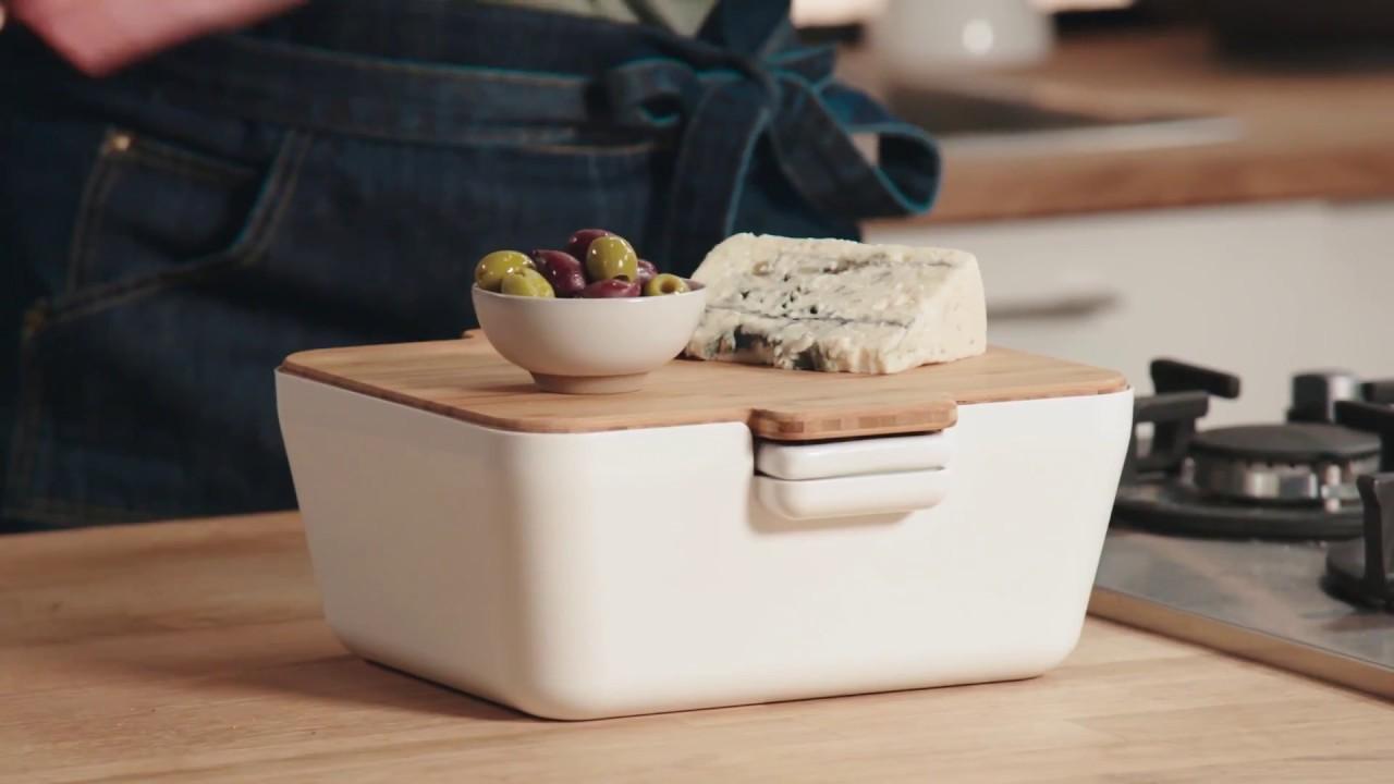 Video - Tomorrow's Kitchen Serveerschaal Bread & Dip Wit
