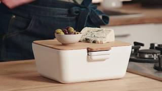 Tomorrow's Kitchen Serveerschaal Bread & Dip Wit