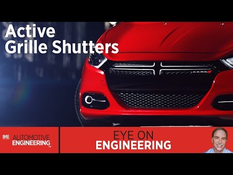 SAE Eye on Engineering: Active Grille Shutters