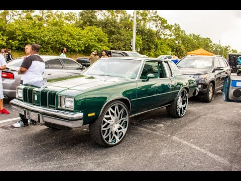 Big rims, Brushed wheels, big motor :Oldsmobile Cutlass on Amani Forged in HD