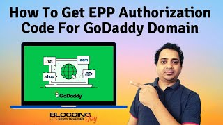 How To Find EPP Authorization Code Of GoDaddy Domain | GoDaddy Tutorial | Transfer Domain Name