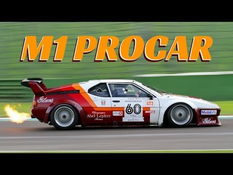 1979 2x BMW M1 Procar In Action - EPIC Flames & Pure Sound!