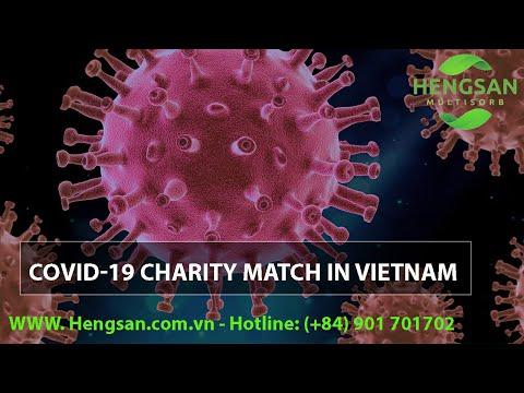 [HENGSAN VIETNAM] - COVID-19 charity match in Vietnam