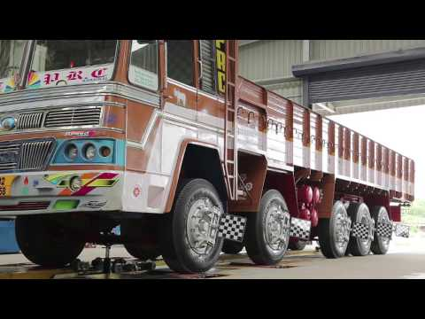 Truck 3D Wheel Alignment Machine
