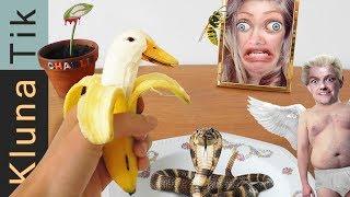 Eating CREEPY CREATURES |#37 KLUNATIK COMPILATION ASMR eating sounds no talk